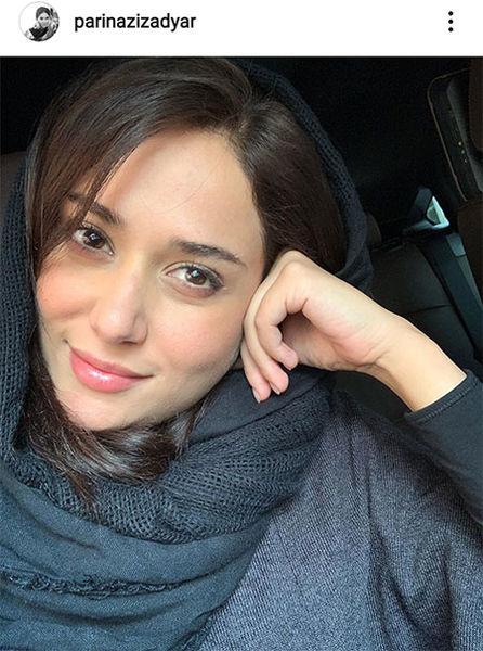 عکس پاییزی خانم بازیگر بدون حضور پاییز!