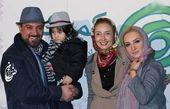 ملاقات خانوادگی برزو ارجمند با کتایون ریاحی+عکس