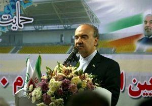 وزیر ورزش: ۷۵ درصد پروژههای نیمهتمام ورزشی تا پایان دولت به بهرهبرداری میرسد