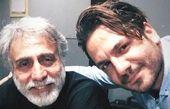 عباس غزالی و عمو جان معروفش+عکس