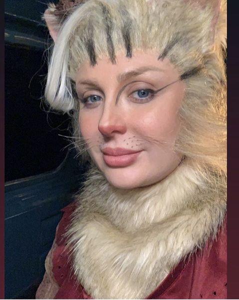 گریم گربه ای نیوشا ضیغمی + عکس