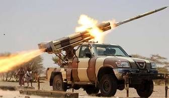 اعلام جنگ ارتش یمن با آمریکا