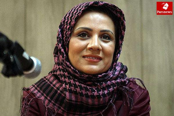 حضور بازیگر خانم در سریالی سیاسی