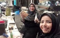 افطاری خبری خانم مجری