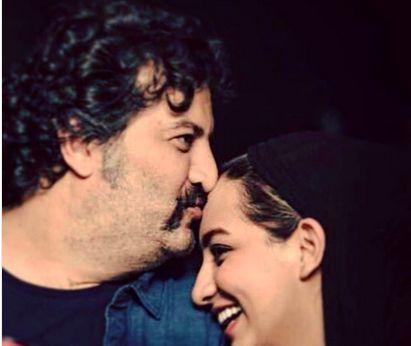 دختر مهراب قاسم خانی با پدر فرفری موی غزل سازش!