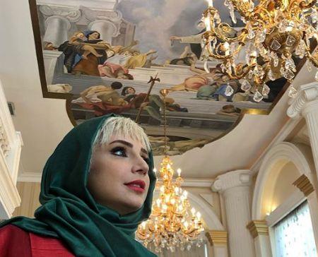 گریم متفاوت شبنم قلی خانی در مانکن+عکس