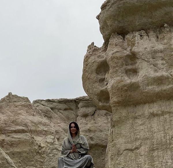 سفر آنا نعمتی به ناکجا آباد + عکس