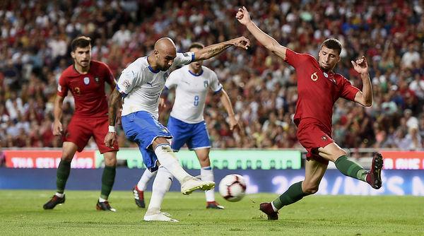 پیروزی پرتغال مقابل ایتالیا