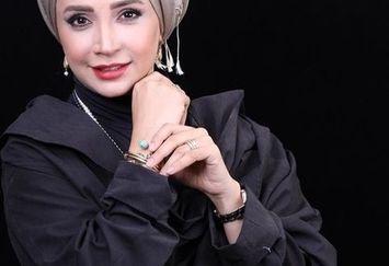 عکس مدلینگ با حجاب شبنم قلی خانی