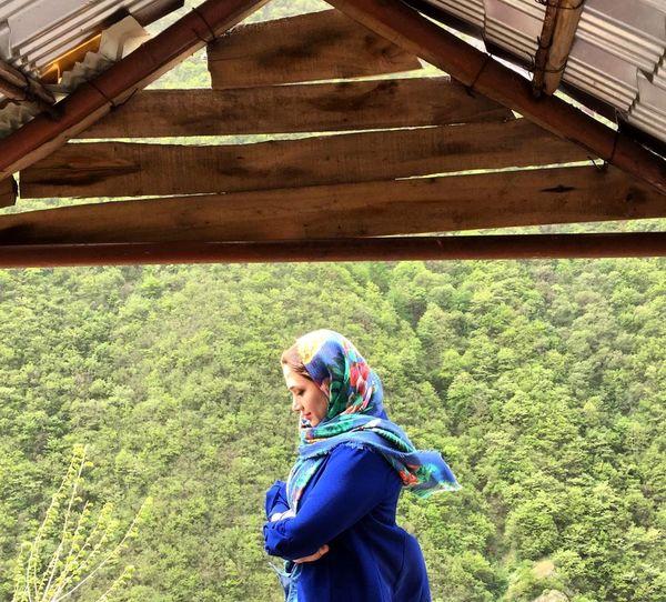خاله سارا در طبیعت بکر+عکس