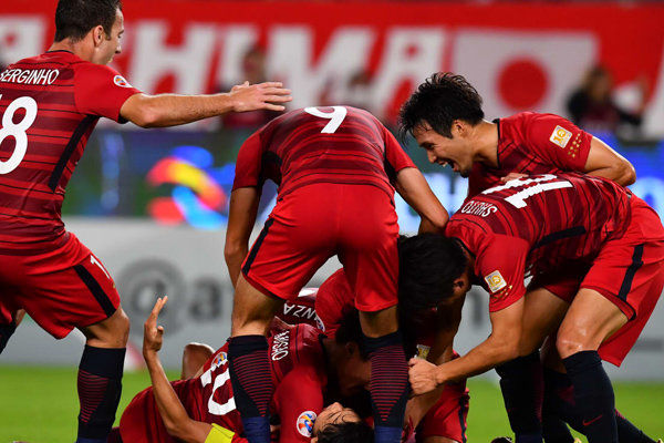 ترکیب تیم کاشیما اعلام شد