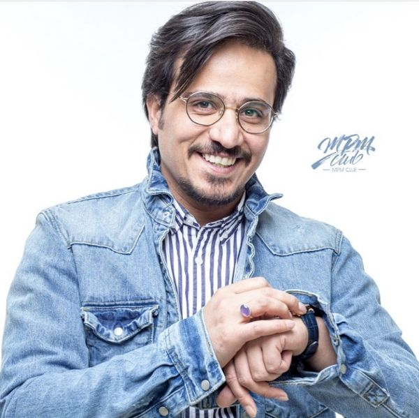 حسین سلیمانی با تیپ جینش + عکس