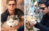 حذف بازیگر زن به خاطر سگ، مردهای بازیگر با همان عکسها روی آنتن!