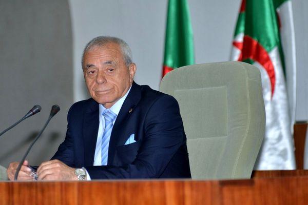 رئیس مجلس مردمی الجزایر انحلال پارلمان را خواستار شد