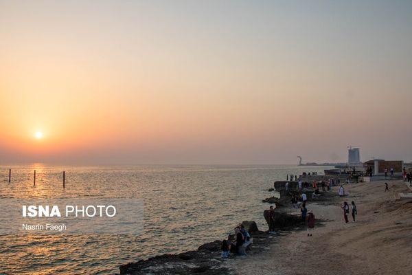 ورود مسافران به جزیره کیش در تعطیلات عید فطر