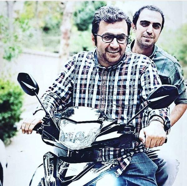 موتورسواری شهرام عبدلی + عکس