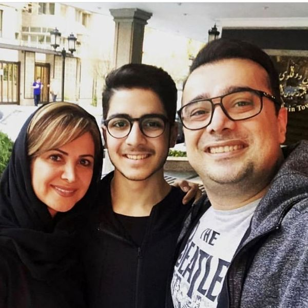 سلفی خانوادگی سپند امیرسلیمانی + عکس