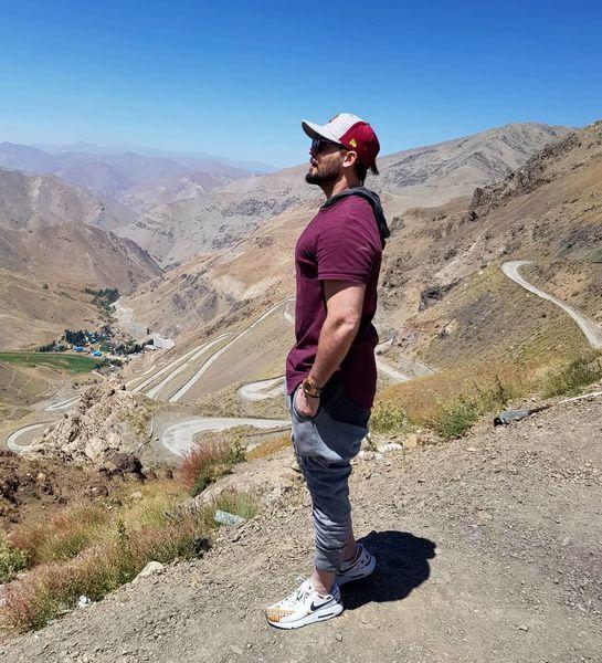 دانیال عبادی بر فراز قله ها + عکس