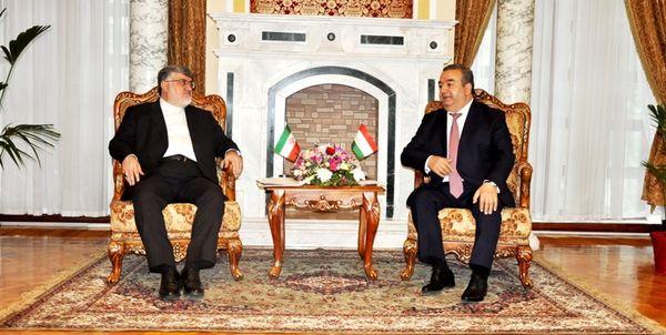 علاقه مندی تاجیکستان و ایران به همکاری