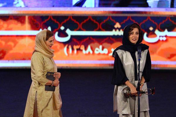 آرزوی فاطمه معتمدآریا برای مردم ایران در جشن خانه سینما