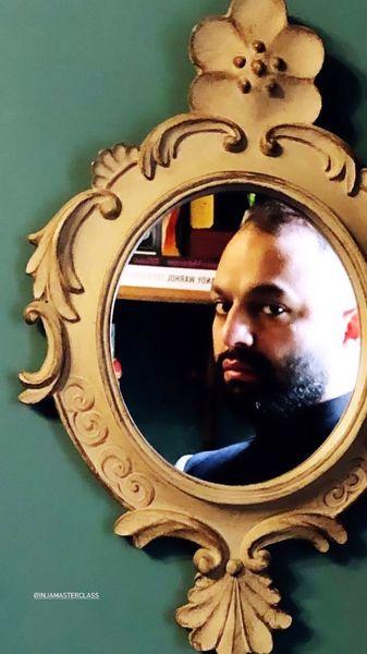 صابر ابر در آینه + عکس