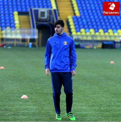 اولین بازی عزت اللهی در تیم جدیدش/عکس