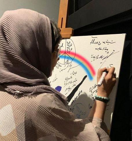 کتایون ریاحی در جشنواره بین المللی هنر برای صلح