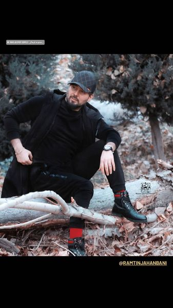 دانیال عبادی در دل طبیعت پاییزی + عکس