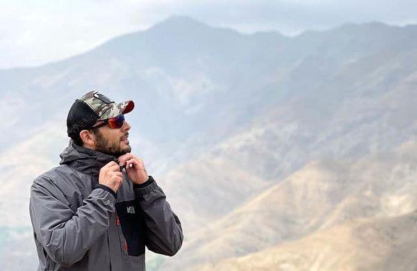 دلنوشته های پدرام شریفی بر فراز کوه + عکس