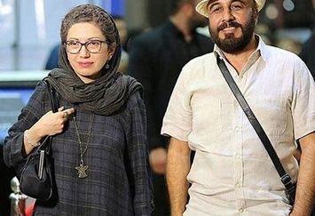 رضا عطاران و همسرش+عکس