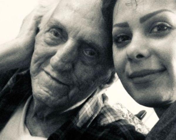 متن زیبا و تاثیرگذار بهار ارجمند برای پدربزرگش