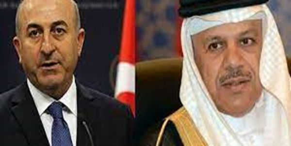 اولین تماس تلفنی چاووشاوغلو با همتای بحرینی بعد از بحران قطر