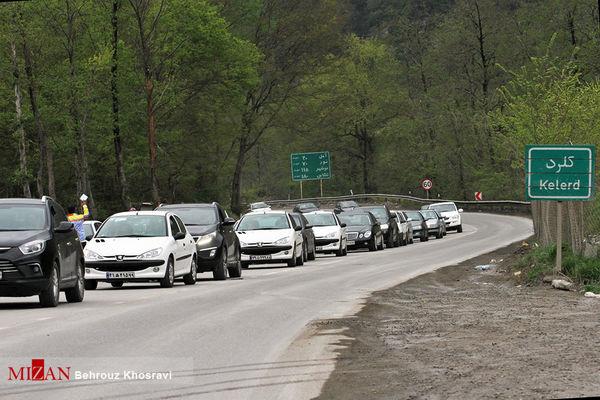 آخرین وضعیت ترافیکی محورهای مواصلاتی