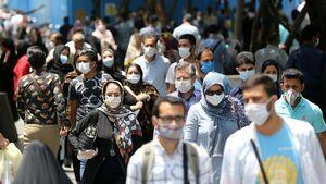 تهران در روزهای اجباری شدن ماسک/ عکس