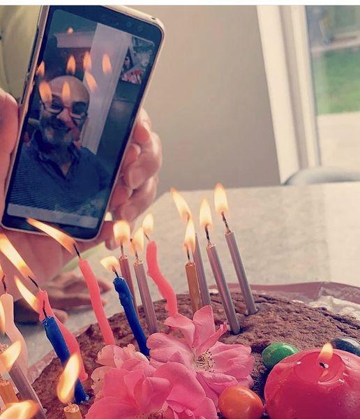 تولد کرونایی علی عمرانی + عکس