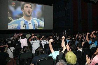 تماشای رایگان فوتبال از تلویزیون یا بلیت 20 هزارتومانی در سینما!