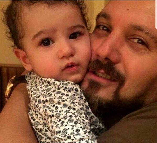 عکس پدر و دختری کامبیز دیرباز و نیاز