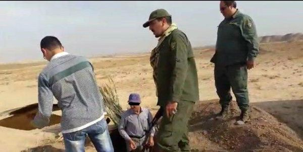 دستگیری متخلفان زندهگیری پرندگان شکاری کمیاب و در حال انقراض
