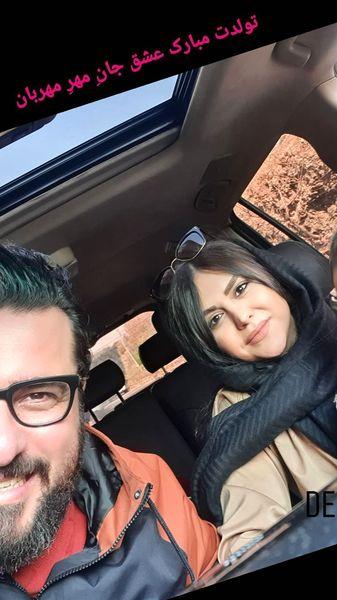تولد همسر محسن کیایی + عکس