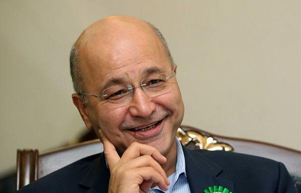 برهم صالح، رئیس جمهور عراق به تهران سفر میکند