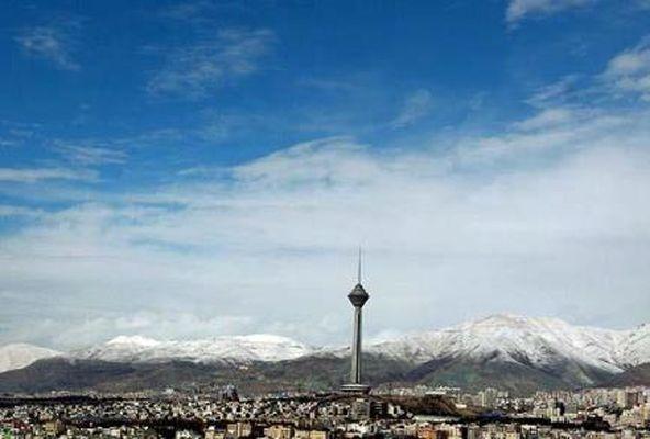 رکوردشکنی کیفیت هوای تهران در فروردین ۹۵+جدول