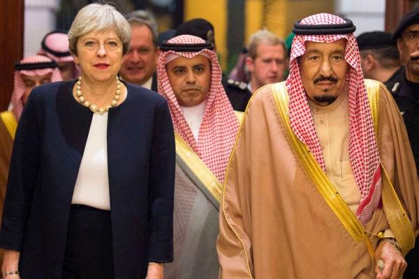 دست انگلیس در برخورد با عربستان بسته است