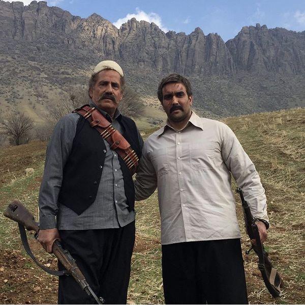 پوریا پور سرخ و مجید مظفری با لباس های محلی + عکس