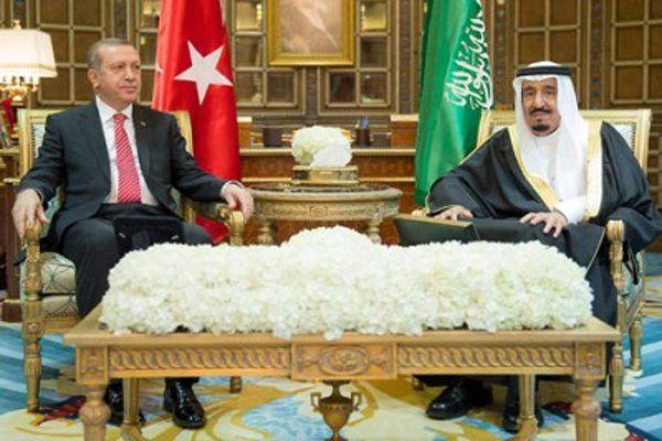 زوایای سفر اردوغان به ریاض