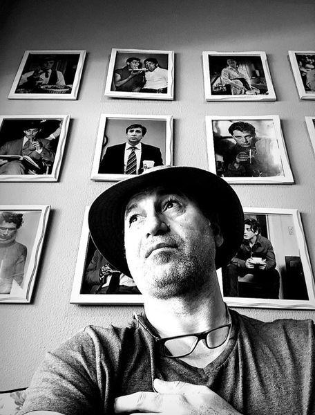 حمید فرخ نژاد در قاب بزرگان سینمای جهان + عکس