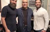 مهران مدیری و علی زندوکیلی در کنارهم + عکس