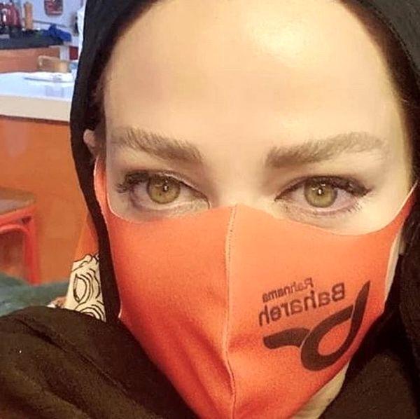 ماسک متفاوت بهاره رهنما + عکس