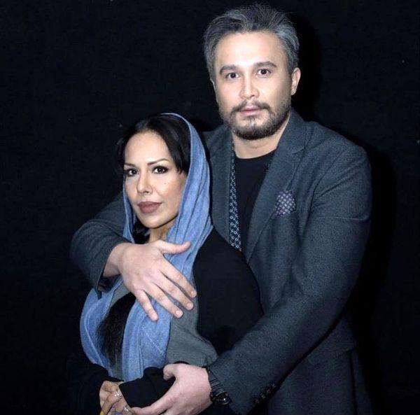 کیوان محمودنژاد و همسرش + عکس