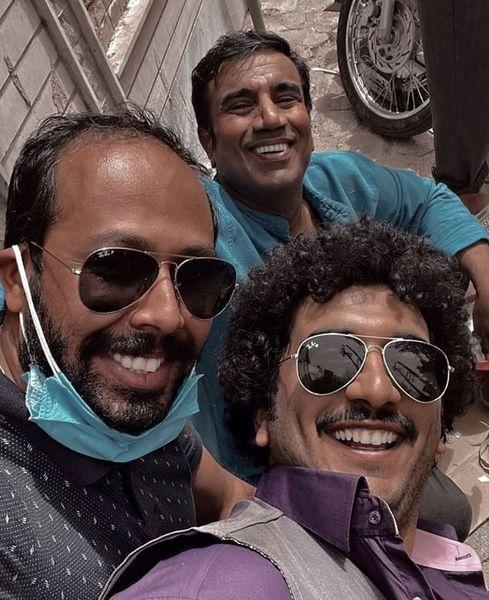 نصرالله رادش و دوستان آبادانیش + عکس