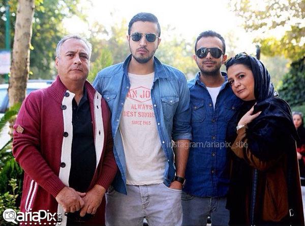 مهرداد صدیقیان و خانواده جوان و خوشتیپش+عکس